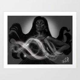 Air Witch Art Print