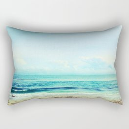 sea sheila beach Rectangular Pillow