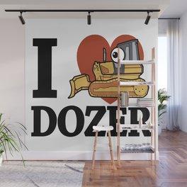 I love Dozer Wall Mural
