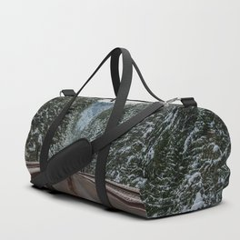 Winter Road Trip - Pacific Northwest Nature Photography Duffle Bag