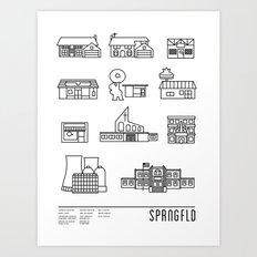 SPRNGFLD Art Print