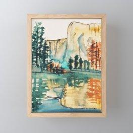 Mirror Lake Framed Mini Art Print