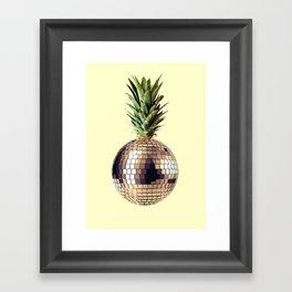 ananas party (pineapple) Framed Art Print