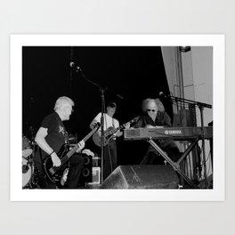 The Skip Castro Band Art Print