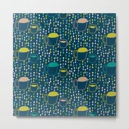 Pattern Project #25 / Cuppati Metal Print