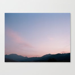 Sand Dune, Sunrise, FILM Canvas Print