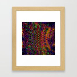Way Out There Framed Art Print