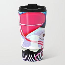 Cabsink16DesignerPatternELNP Travel Mug