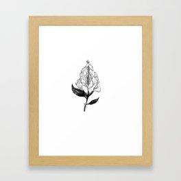 magical vulve Framed Art Print
