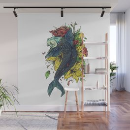 fish watercolor Wall Mural