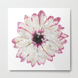 Daisy Flower by HeavenNezCree Metal Print