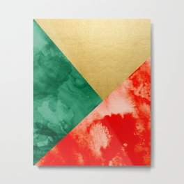 Holiday Spirit #society6 #buyart #decor Metal Print