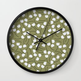 New Beginnings - English Meadow Collection Wall Clock