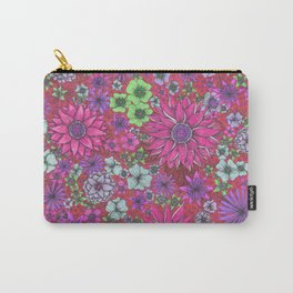 Secret Garden in Pink Carry-All Pouch