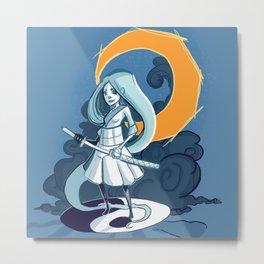 MoonGirl Metal Print