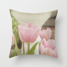 Softly Yours Throw Pillow