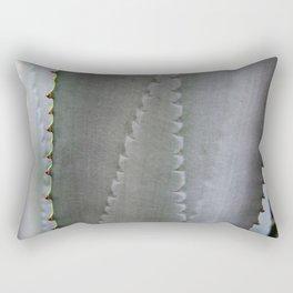 Silver Cactus Rectangular Pillow