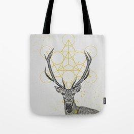 sketchy stag Tote Bag