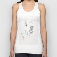 dick Tank Tops featuring Moby dick  by JackOfAll