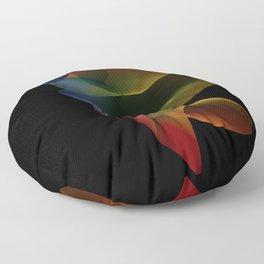Light Refracted Floor Pillow
