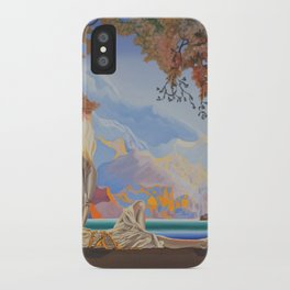 After Maxfield Parrish iPhone Case