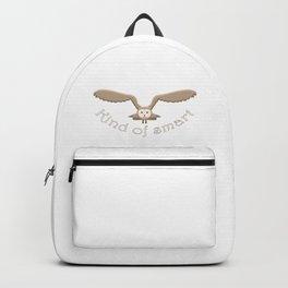 Kind of smart owl Backpack