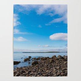 Blue Skies Narragansett Bay Poster