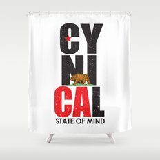 CyniCAl Shower Curtain
