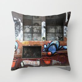 Hosier Lane 2 Throw Pillow