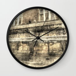 The Nags Head Pub Covent Garden London Vintage Wall Clock