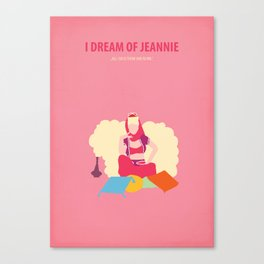 I dream of Jeannie Canvas Print