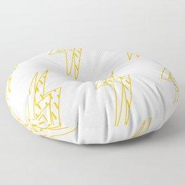 BLINDED LIGHT Floor Pillow
