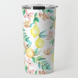 Flowers and Fruits Travel Mug