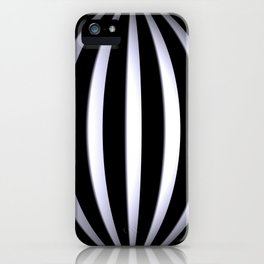 black-and-white -03- iPhone Case