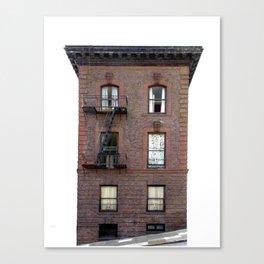 Brick House San Francisco Canvas Print