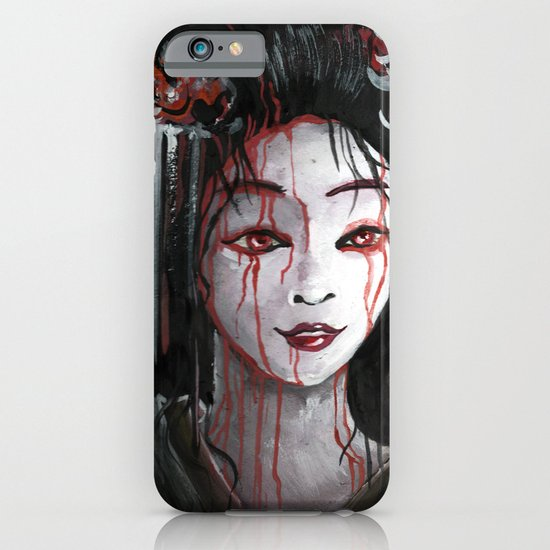 Geisha in Blood: The unwiling Concubine iPhone & iPod Case