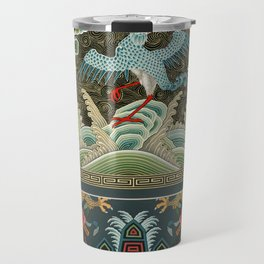 A very old Chinese artwork Travel Mug