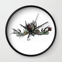 Fynbos Colour Wall Clock