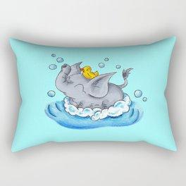 Bubble Bath Buddy Rectangular Pillow
