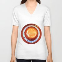 dot V-neck T-shirts featuring dot by Cansu Girgin