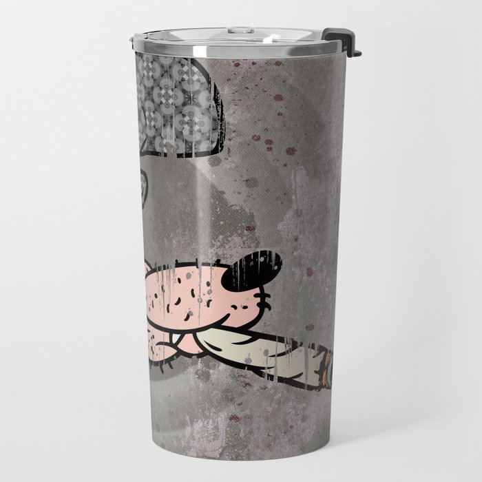 Smokin Wolf Travel Mug