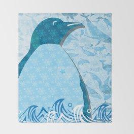 Penguin: Love Throw Blanket
