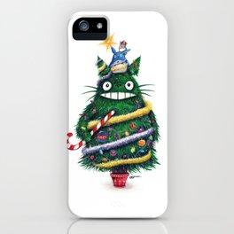 Christmas T0T0R0 (Studio Ghibli) iPhone Case