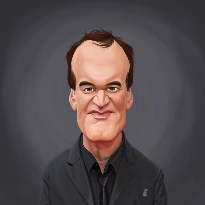 Celebrity Sunday ~ Quentin Tarantino Duvet Cover