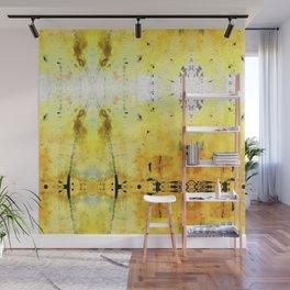Yellow Abstract Art - Good Vibrations - By Sharon Cummings Wall Mural