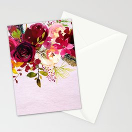Flowers bouquet #38 Stationery Cards