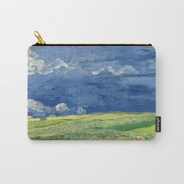 Vincent van Gogh - Wheatfield Under Thunderclouds Carry-All Pouch