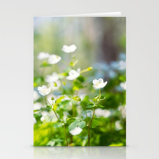 forest of dreams Stationery Cards