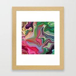 Hippy Happy Framed Art Print