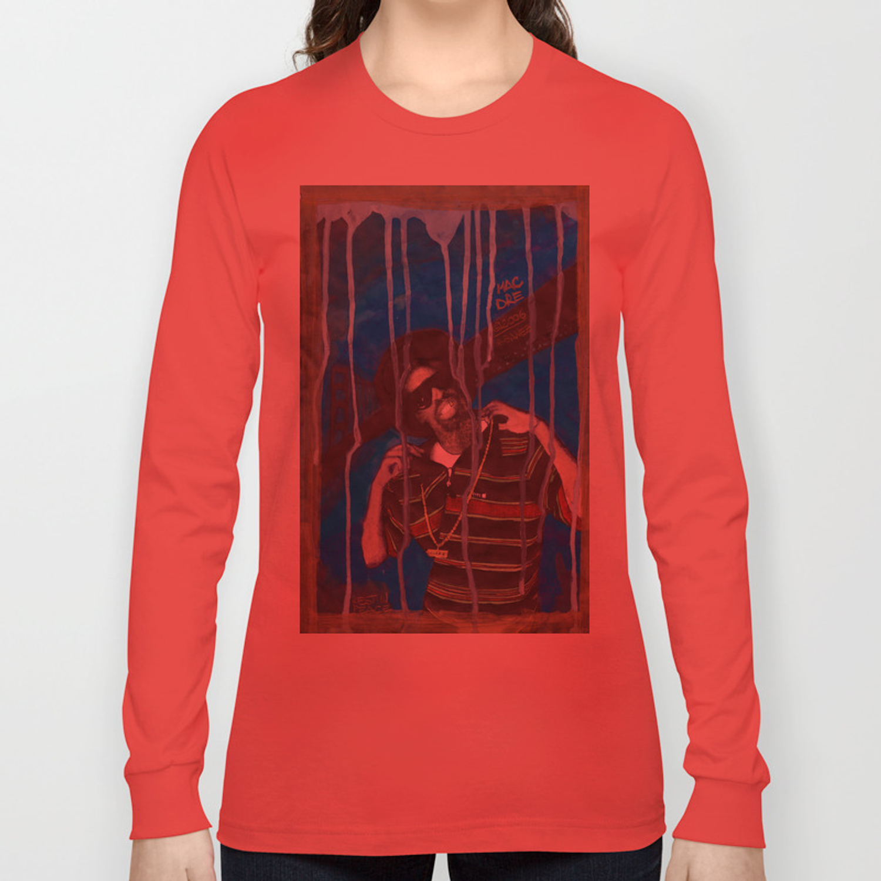 DEAD RAPPERS SERIES - Mac Dre Long Sleeve T-shirt by ibbanez